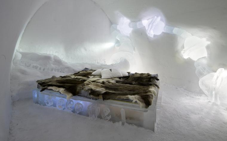 Zimowy raj – IceHotel, Szwecja