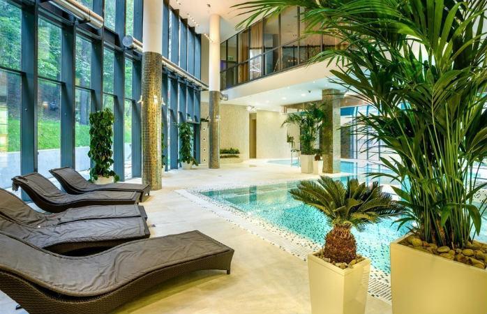 Strefie Aqua dostępna w Hotelu Czarny Potok